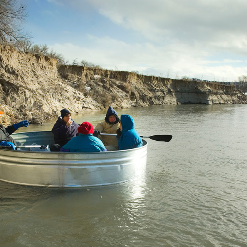 River Tanking